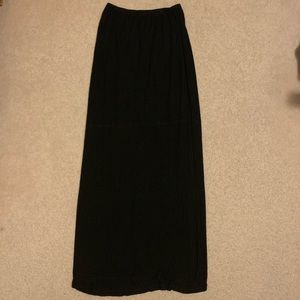 BLACK BRANDY MELVILLE MAXI SKIRT
